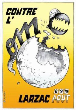 Affiche Rassemblement Larzac 2003